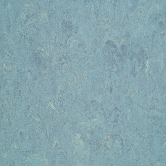 Линолеум натуральный DLW Flooring Marmorette Pur 125-023 Dusty Blue