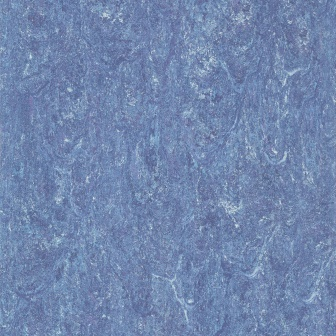 Линолеум натуральный DLW Flooring Marmorette Pur 125-049 Royal Blue