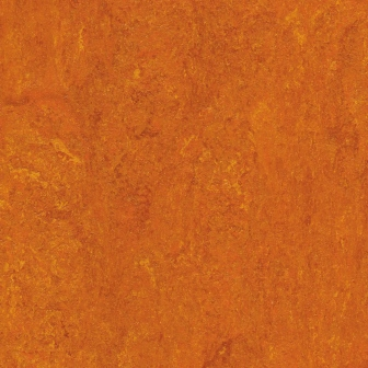 Линолеум натуральный DLW Flooring Marmorette Pur 125-117 Mandarin Orange