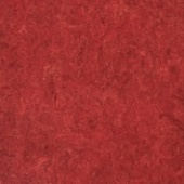 Линолеум натуральный DLW Flooring Marmorette Pur 125-018 Lobster Red