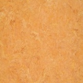 Линолеум натуральный DLW Flooring Marmorette Pur 125-019 Sunset Orange